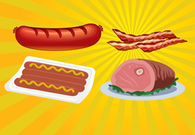 Meat vector illustration