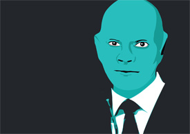 Fantomas face free vector illustration