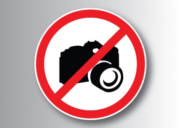 No camera allowed sign - free vector download
