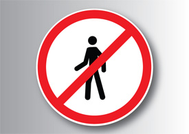No entry sign free vector illustration thumb