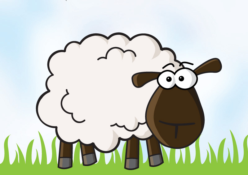Sheep Vector Image Sheep Vector Illustration