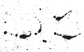 Ink splashes free vector art - thumb