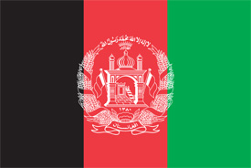 Free vector flag of Afghanistan
