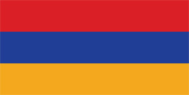Free vector flag of Armenia