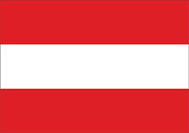 Free vector flag of Austria