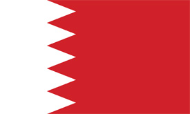 Free vector flag of Bahrain