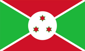 Free vector flag of Burundi