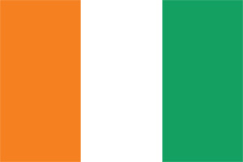 Free vector flag of côte d'ivore (Ivory Coast)