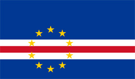 Free vector flag of Cape Verde