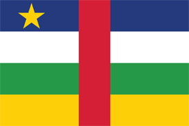Free vector flag of Central African Republic