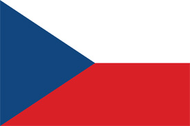 Free vector flag of the Czech Republic