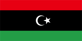 Free vector flag of Libya