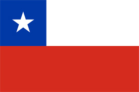 Free vector flag of Chile