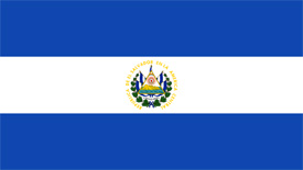 Free vector flag of El Salvador