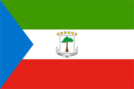 Free vector flag of Equatorial Guinea