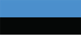 Free vector flag of Estonia
