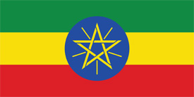 Free vector flag of Ethiopia