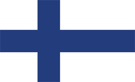 Free vector flag of Finland