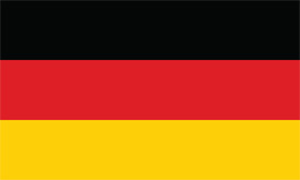 Free vector flag of Germany