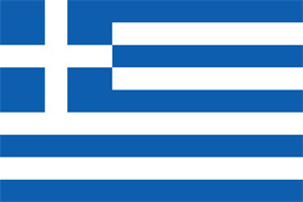 Free vector flag of Greece