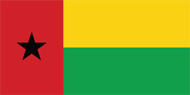 Free vector flag of Guinea Bissau