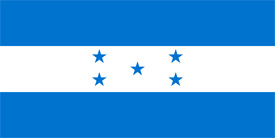 Free vector flag of Honduras