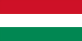 Free vector flag of Hungary