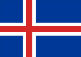 Free vector flag of Iceland
