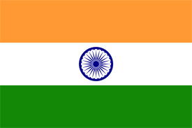 Free vector flag of India