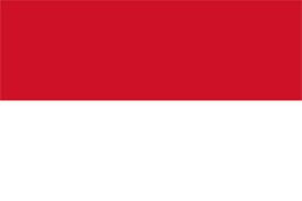 Free vector flag of Indonesia