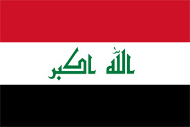 Free vector flag of Iraq