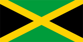 Free vector flag of Jamaica