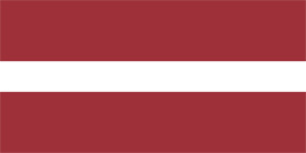 Free vector flag of Latvia