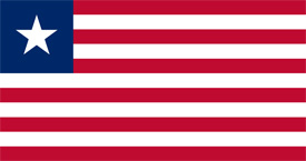Free vector flag of Liberia