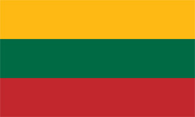 Free vector flag of Lithuania