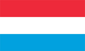 Free vector flag of Luxembourg
