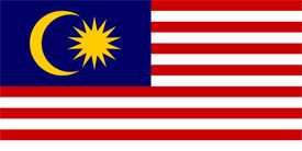 Free vector flag of Malaysia