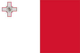 Free vector flag of Malta