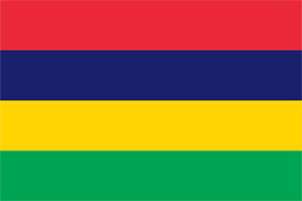 Free vector flag of Mauritius