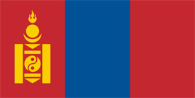 Free vector flag of Mongolia