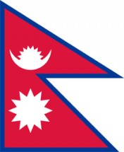 Free vector flag of Nepal