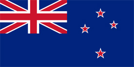 Free vector flag of New Zealand