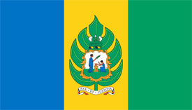 Free vector flag of Saint Vincent and the Grenadines