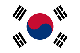 Free vector flag of South Korea