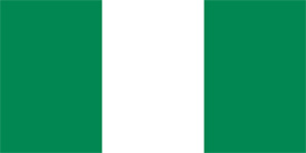 Free vector flag of Nigeria