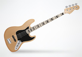 Fender Jazz Bass Guitar Free Vector