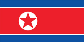 Free vector flag of North Korea