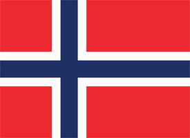 Free vector flag of Norway