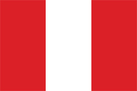 Free vector flag of Peru