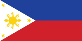 Free vector flag of Philippines